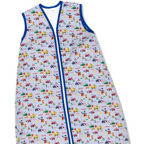 Kinderschlafsack (Sommer) - Trucks & Bulldozers