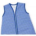 Großer Kinderschlafsack (winter) - Cobalt kariert