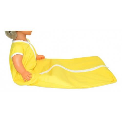 Schlafsack für Behinderte - Basic gelb