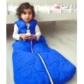 Schlafsack für Behinderte - Basic cobalt