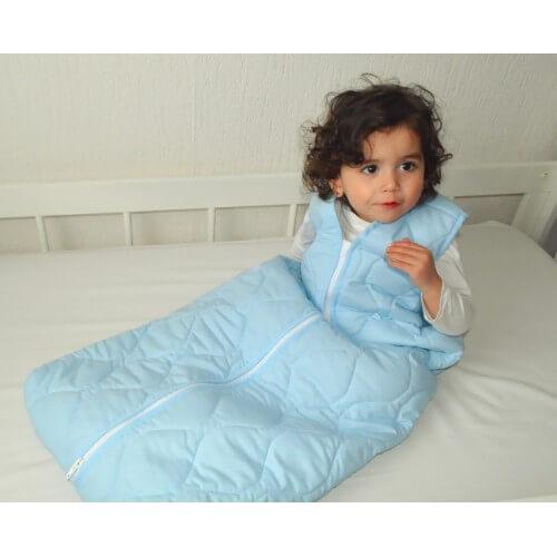 Schlafsack für Behinderte - Basic blue