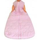 Schlafsack 130 / 160 cm - Rosa kariert