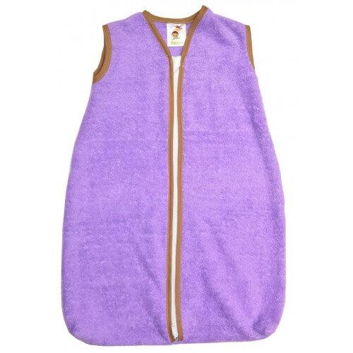 Kinderschlafsack Frottee - Lila