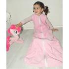 Kinderschlafsack Frottee - Rosa