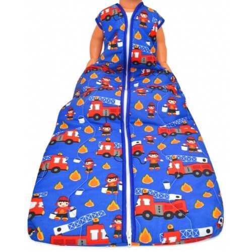 Großer Kinderschlafsack (sommer) - Feuerwehr