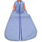 Schlafsack für Behinderte Kinder - Cobalt kariert