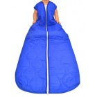 Schlafsack 130 / 160 cm - Basic kobalt