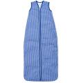 Großer Kinderschlafsack (sommer) - Kobalt kariert